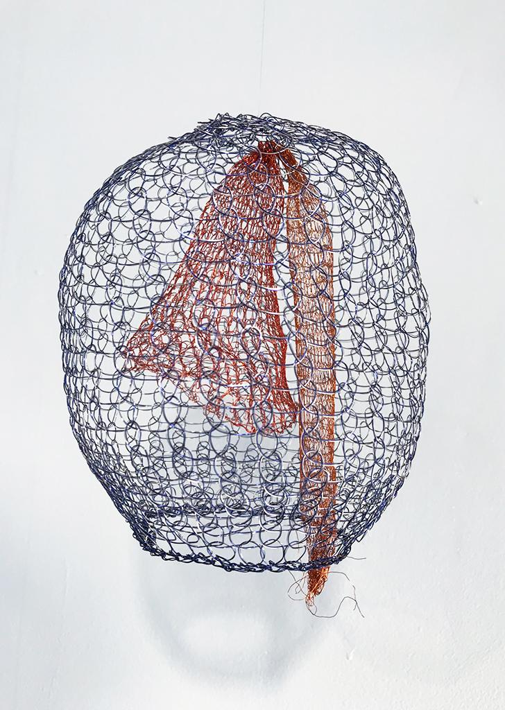 Arline Fisch, Lantern Blue, 2008-2018, Aquatic Bloom, Craft in America