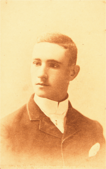 Charles Greene, ca. 1888 ( Greene and Greene Archives)