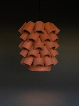 Ben Medansky, Pendant Light, ceramic, Consume