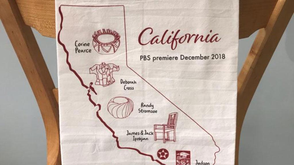 California Tea Towel, Craft in America