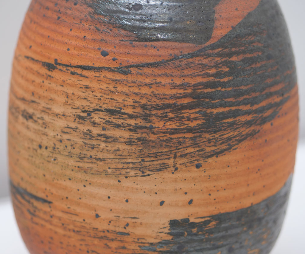 Vivika and Otto Heino, Vase detail, 1974, California Visionaries: Seminal Studio Craft, Featuring Works from the Forrest L. Merrill Collection