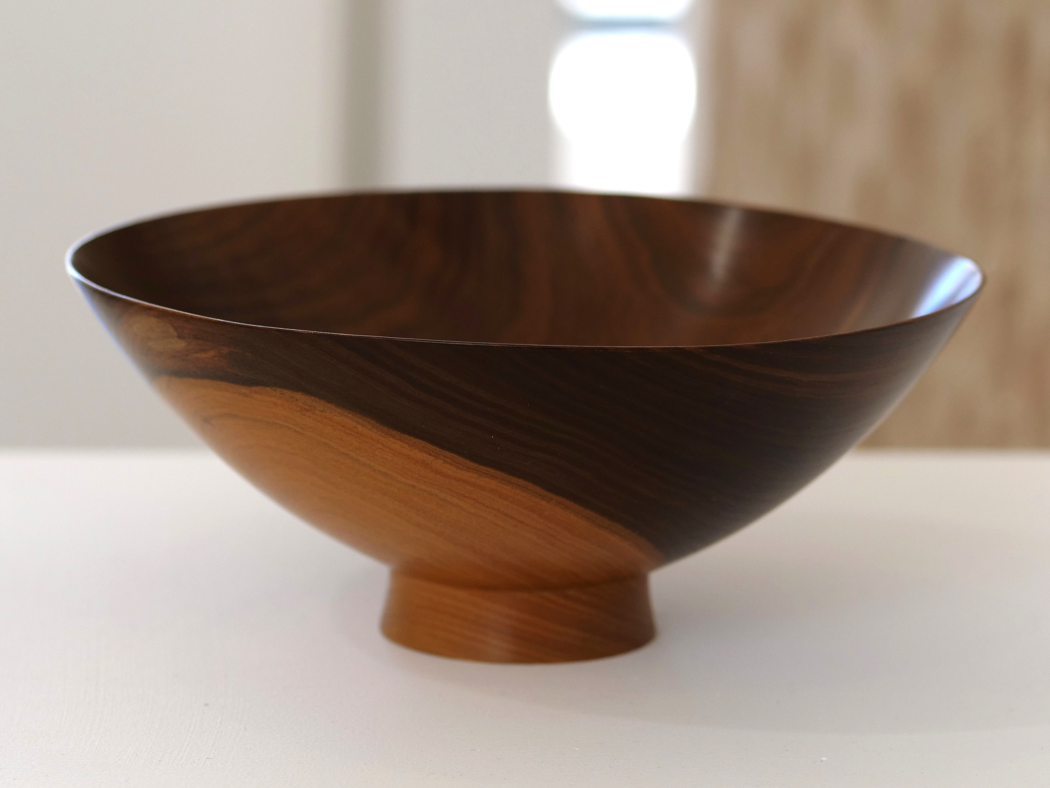 Bob Stocksdale, Bowl, Turned wood, 1974, California Visionaries: Seminal Studio Craft, Featuring Works from the Forrest L. Merrill Collection