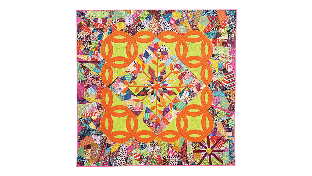 QUILTS, Victoria Findlay Wolfe A Summer's Day, Craft in America