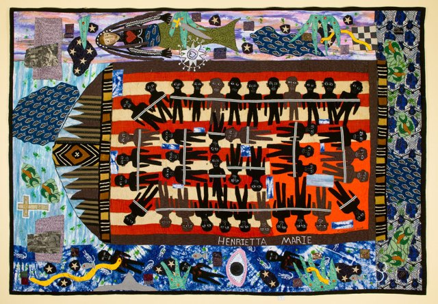 Michael A. Cummings, Slave Ship Henrietta Marie, 2006, Quilts