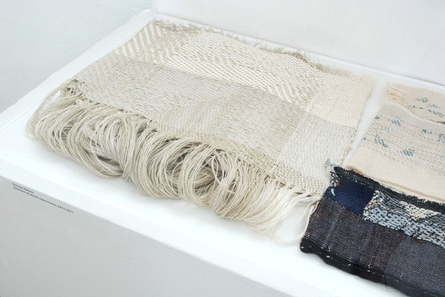 Christy Matson, Selection of woven experiments, 2012-2017. Material Meaning: A Living Legacy of Anni Albers, Craft in America