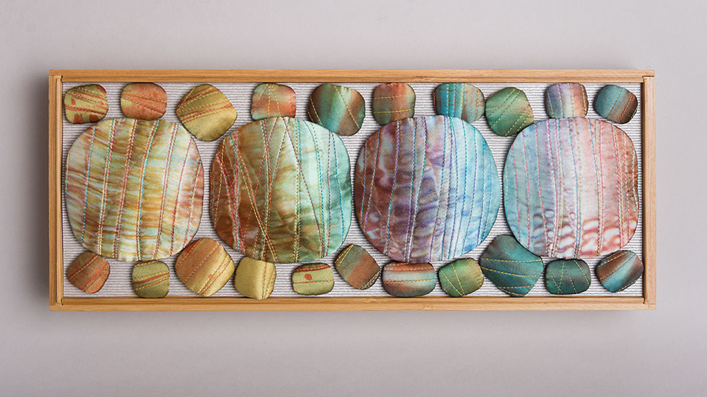 QUILTS, Judith Content, Chalcedony Series I, 2018, Craft in America