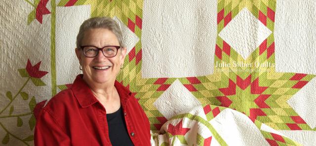 Julie Silber, Quilts, Craft in America