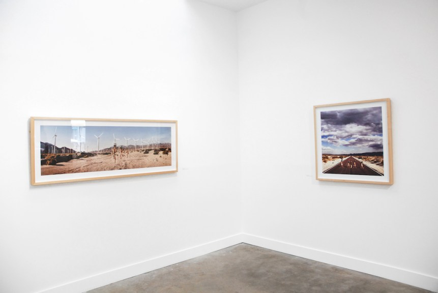Installation view of Cara Romero's Work, Craft in America