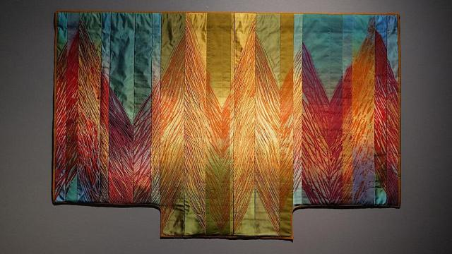 Judith Content, Spires, QUILTS, Craft in America