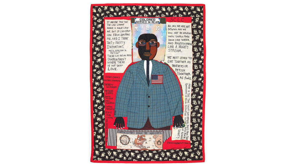 Michael A. Cummings, MARTIN LUTHER KING JR, MLK, quilts, Craft in America
