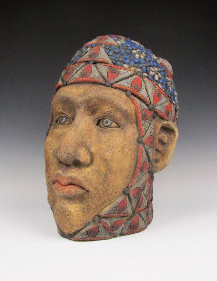George Rodriguez, Narmer. Courtesy of the artist. Craft in America STORYTELLERS