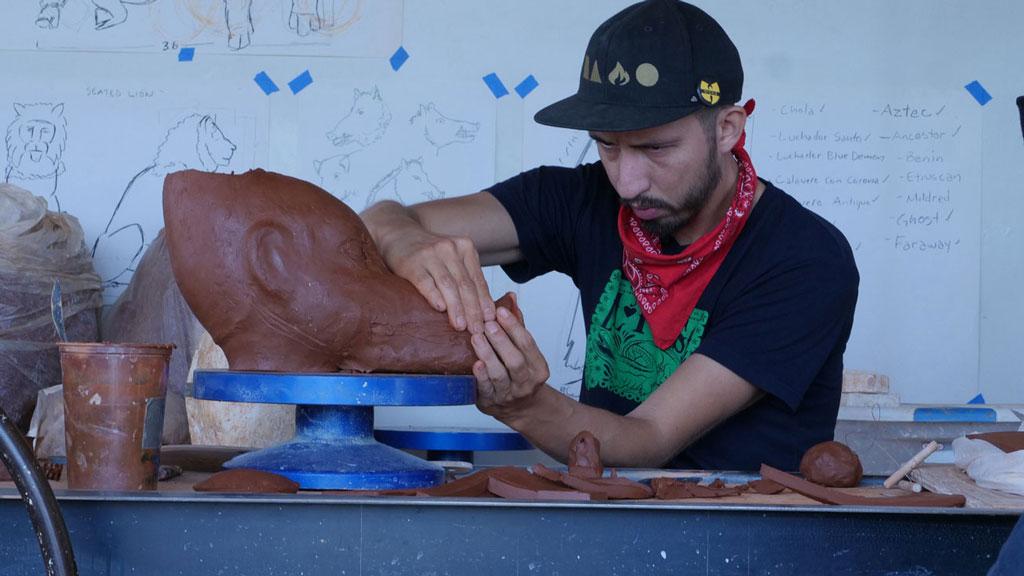 Sculptor George Rodriguez. Craft in America STORYTELLERS