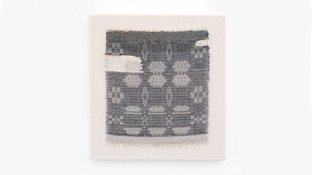 Rachel Snack, Weaving No.12, The Leyland Collection, 2016