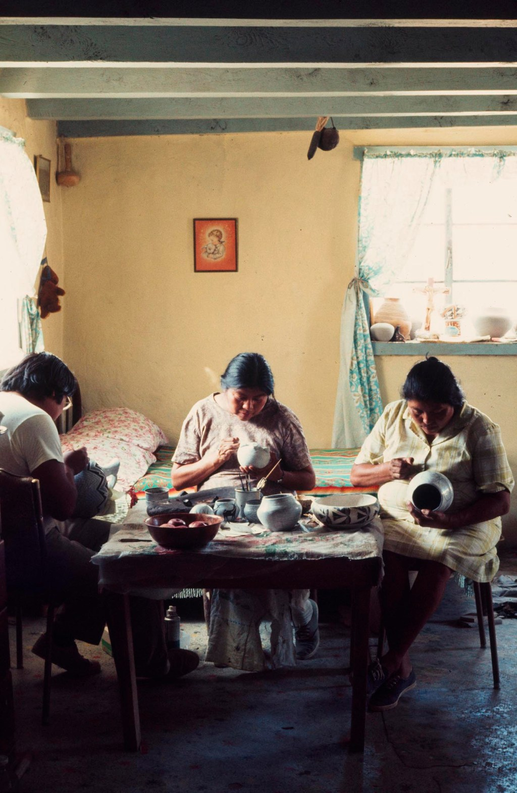 Islands in the Land Exhibition, The Rio Grande, Acoma, Marie Chino Family, Craft in America