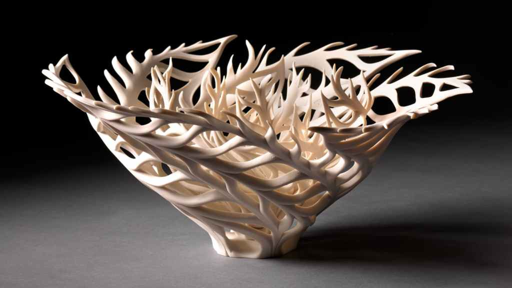 Jennifer McCurdy, Coral Nest Photograph by Gary Mirando, Making Waves: Ocean Ecology & Craft, Craft in America