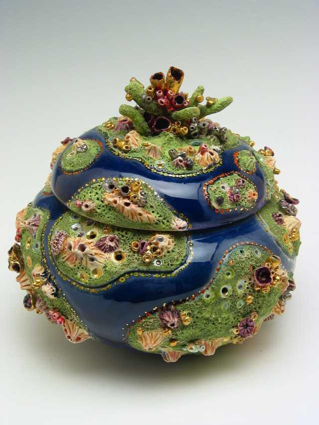 Joan Takayama-Ogawa, Covered Jar, Craft in America