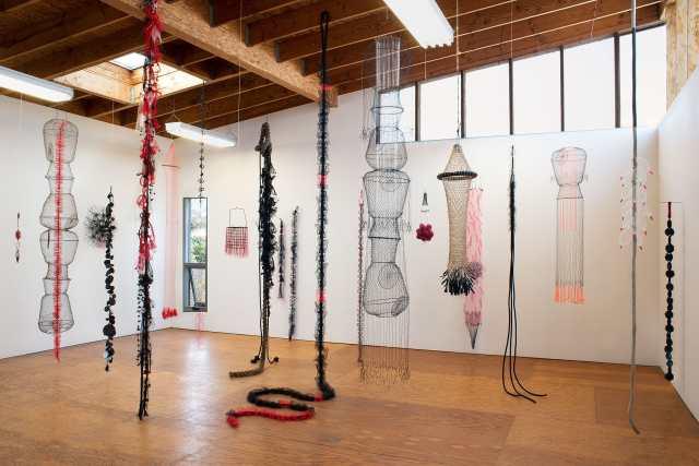 Blue McRight, Studio Installation, Craft in America