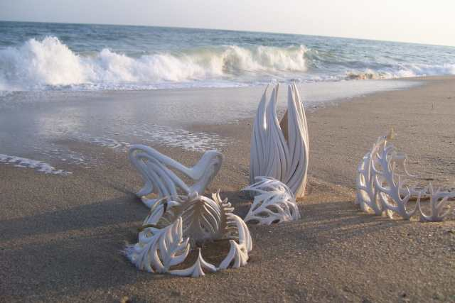 Jennifer McCurdy, Porcelain on the Beach, Craft in America