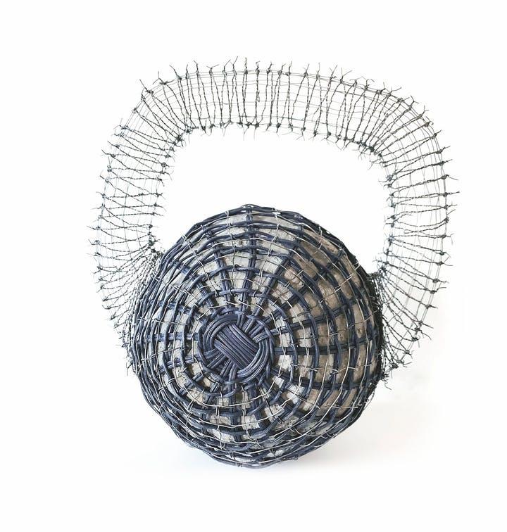 Sarita Westrop, weaver, sculptor, weightless weight, Craft in America