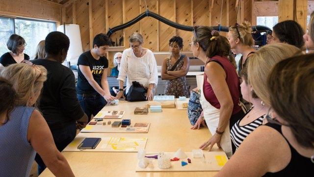 Haystack Mountain School of Crafts. Robin Dreyer photo