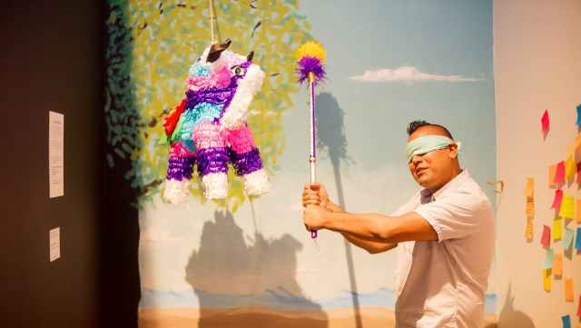 Isaias Rodrigues, Craft in America, Piñata Exhibtion