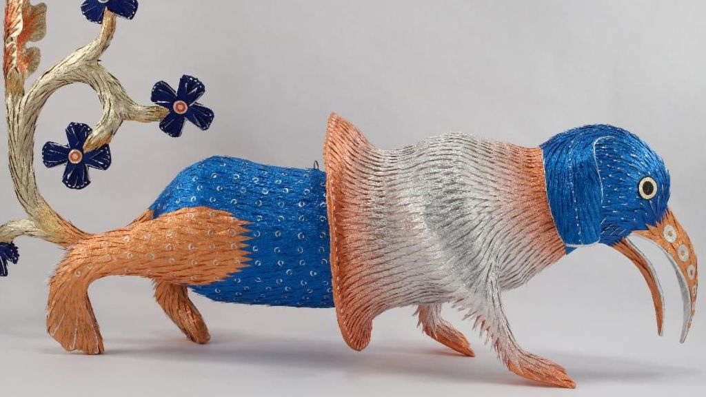 Illuminated Piñata, Craft in America