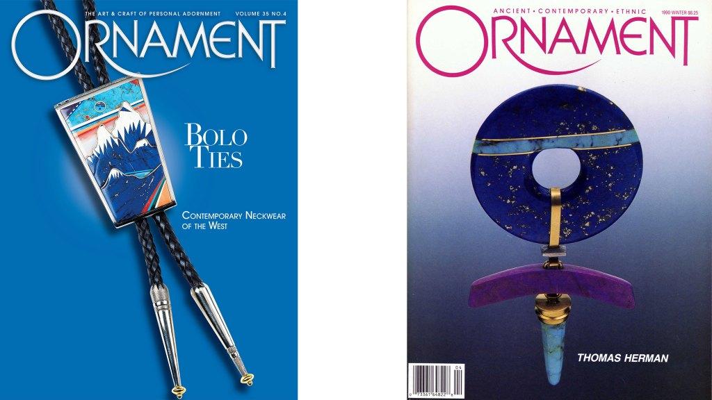 Ornament Magazine covers. JEWELRY episode