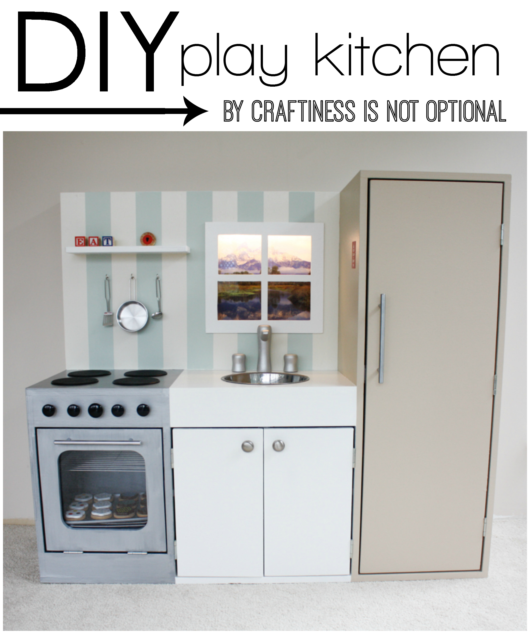 Play Kitchen Materials
