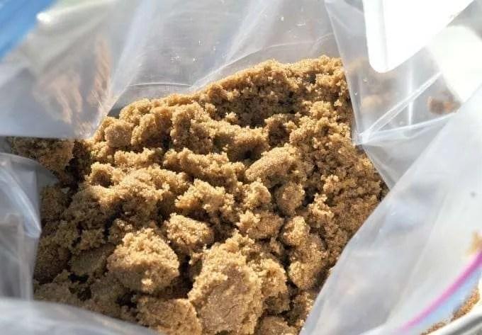 Easy Peanut Butter Oatmeal Bar Cookies