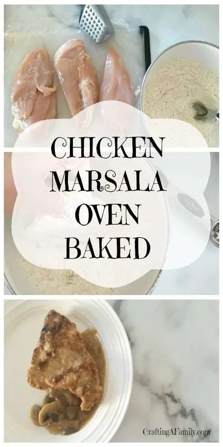 Chicken Marsala | Oven Baked