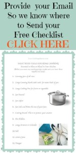 CANNING TOOLS CHECKLIST