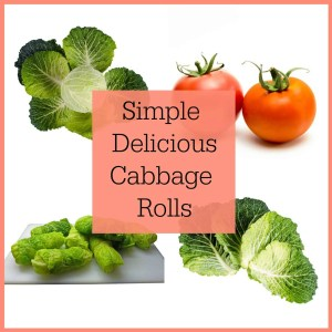 Both Jim's mother and my mother never made cabbage rolls but we have many family members cook cabbage rolls as a family tradition.