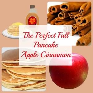 The Perfect Fall Pancake Apple Cinnamon