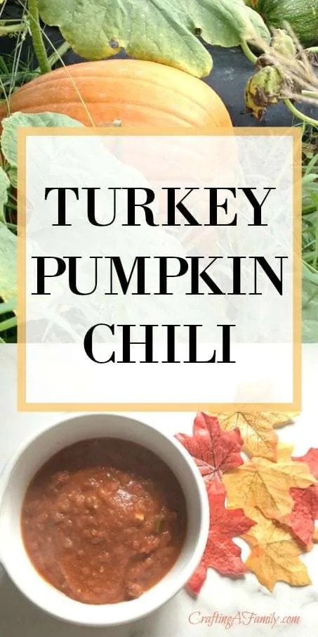 Fabulous Fall Chili || Turkey Pumpkin Chili – You Will Not Believe This Combination