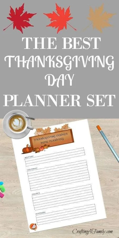 Wow, these printable planners for Thanksgiving have helped me to say organized. I have a plan so Thanksgiving Day will run smoothly. Menu, Guest list, Pantry Essentials, Shopping list and more.