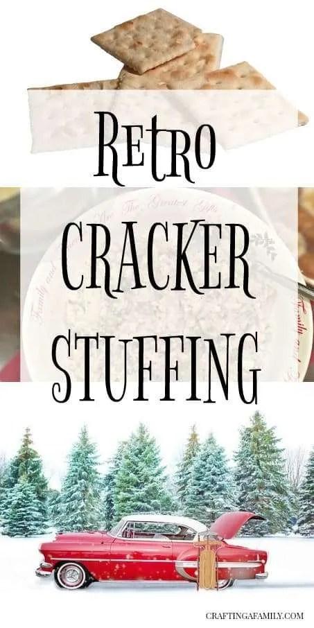 Retro Cracker Stuffing Recipe:  A Thanksgiving in the Bird Recipe