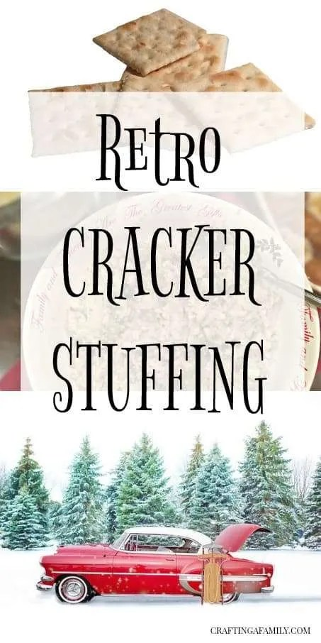 A great new Turkey stuffing or dressing to try for your Christmas party. Retro Mid Modern Cracker Dressing or Stuffing. If you are not a big stuffing fan or are in the mood to try something new, this stuffing is moist, flavorful and delicious.