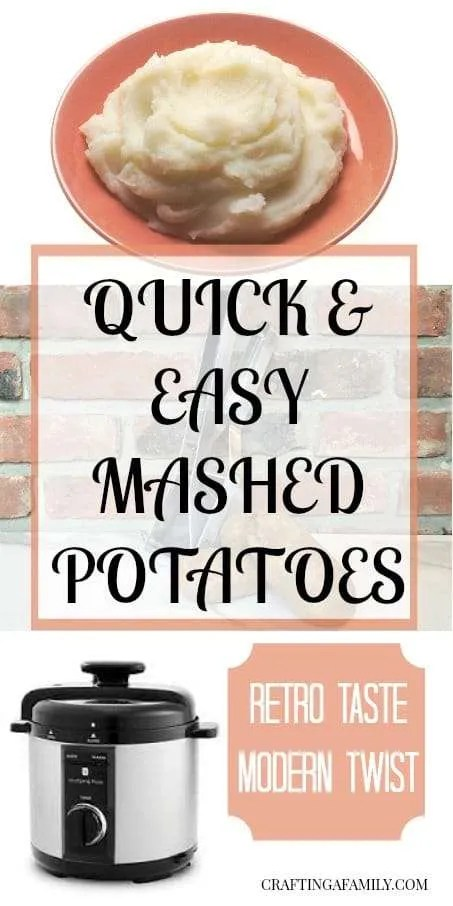 Handmade Mashed Potatoes in the Electric Pressure Cooker