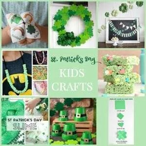8 St. Patrick's Day Quick Easy Kids Crafts