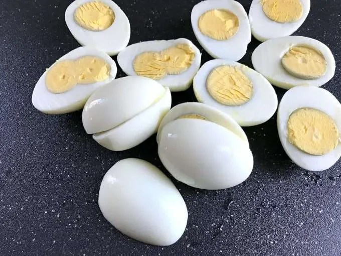 I first remember deviled eggs as a classic appetizer that my mother would make for parties. This traditions soon became a must have on the Easter dinner table. Classic Party Deviled Eggs Easter Menu
