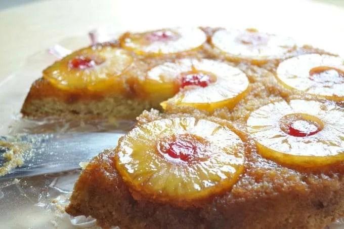 Pineapple Upside Down Cake From Pancake Mix