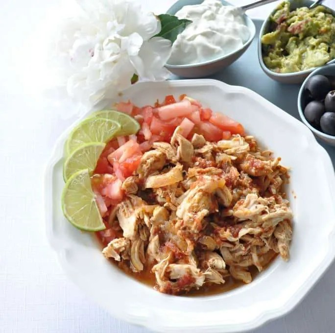 Shredded Adobo Chicken Taco Recipe Electric Pressure Cooker