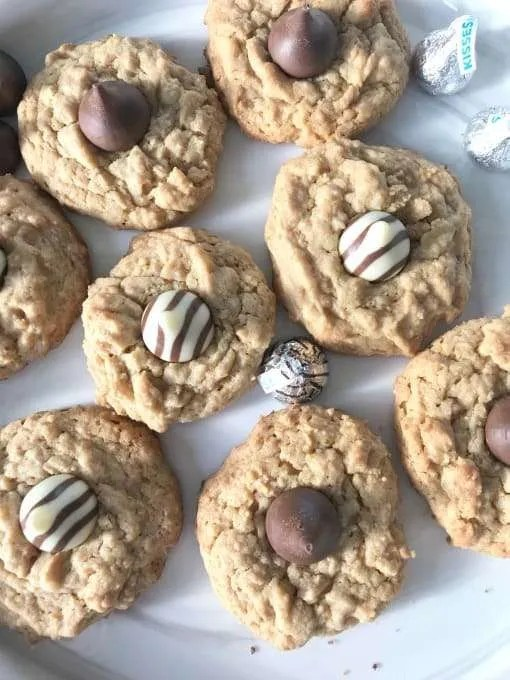 Peanut Butter Kiss Blossom Cookie Recipe