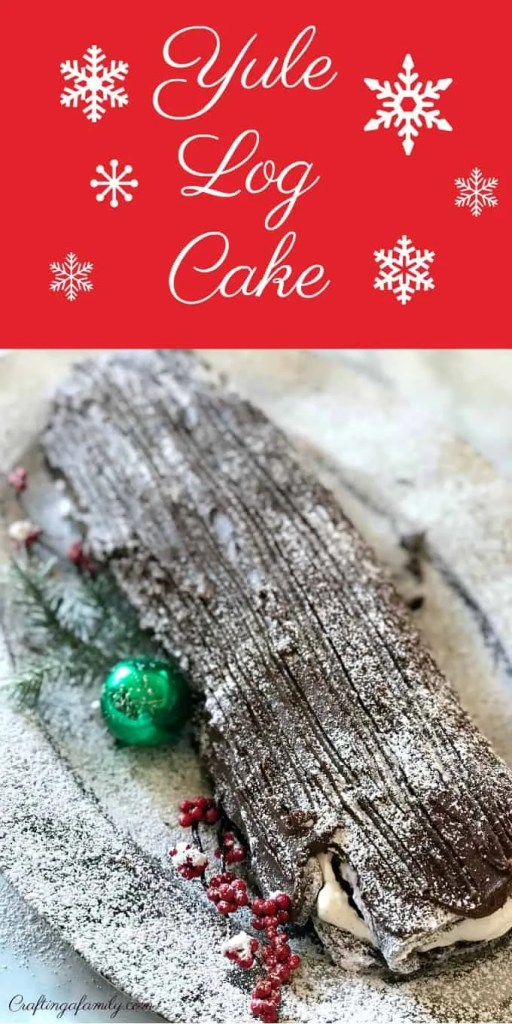 Christmas Yule Log Cake Recipe