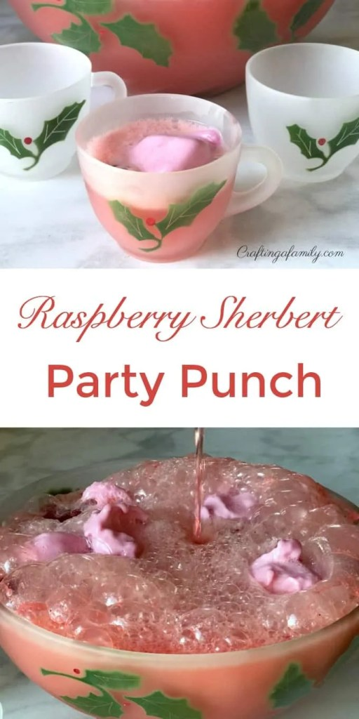 Raspberry Sherbert Party Punch