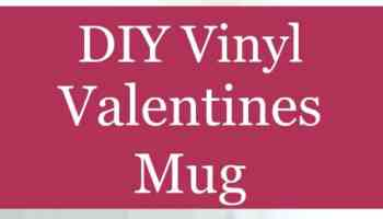 Easy Diy Vinyl Valentine S Day Craft Heart Party Plate Crafting A