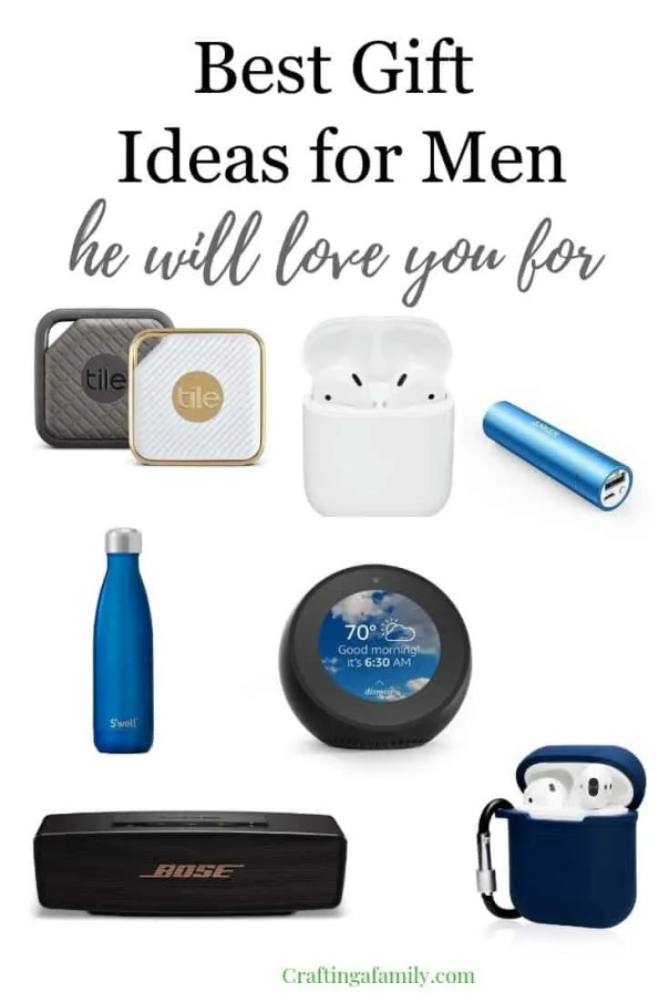 Best Gift Ideas For Men Crafting A Family