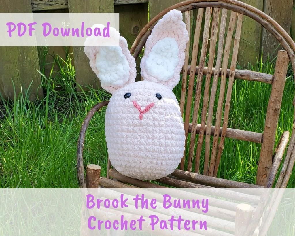 Brook the Bunny Amigurumi Crochet Pattern