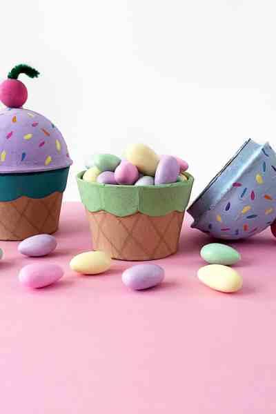 Ice Cream Cone Treat Boxes