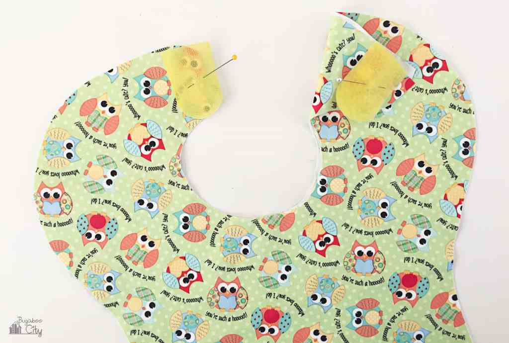 DIY Waterproof Baby Bib 13